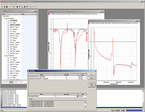 Fiber Parameter Extractor