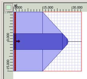SMF28 fiber lens R=2.4µm