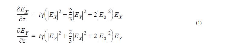 Optical System Equation 1