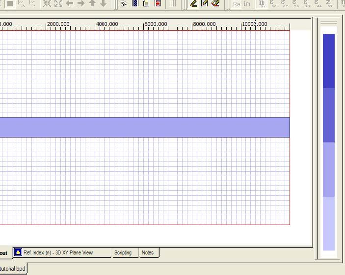 BPM - Figure 9 Layout with ridgeWG profile.