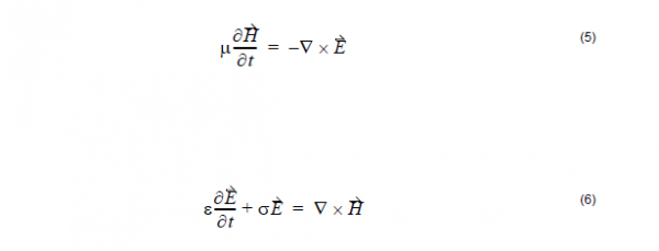 FDTD - equation 5 and 6