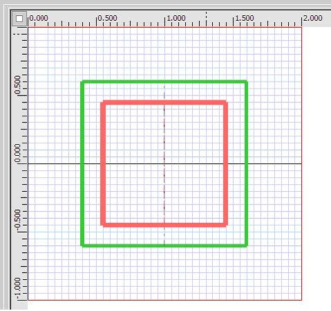 FDTD - Figure 13 TF/SF input plane in the layout window