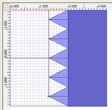FDTD - Figure 2 Layout in OptiFDTD