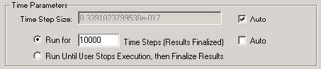 FDTD - Figure 37 Time Parameters