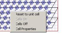 FDTD - Figure 93 PBG Cell Edit context menu
