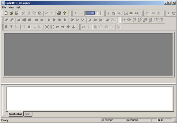 FDTD - Figure 1 OptiFDTD_Designer