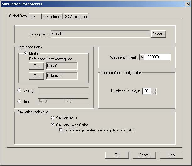 BPM - Figure 12 Global Data tab—Simulate Using Script