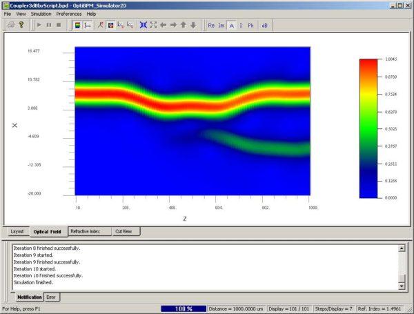 BPM - Figure 27 Simulation using script