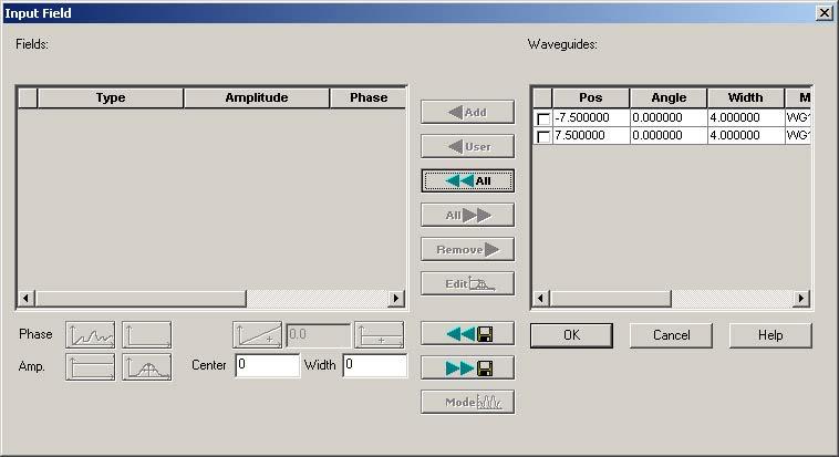 BPM - Figure 21 Input Field dialog box