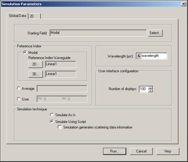 BPM - Figure 14 Run simulation using the scripto
