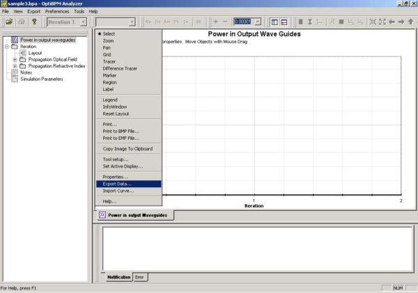 BPM - Figure 29 Export Data