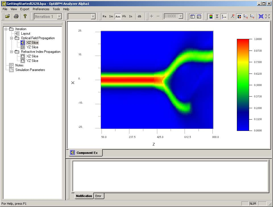 BPM - Figure 32 Simulator display