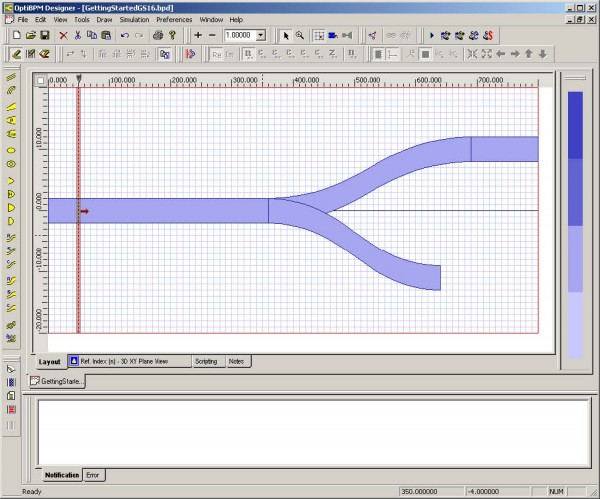 Optical BPM - Input plane