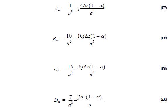 Optical BPM - Equation 197 - 200