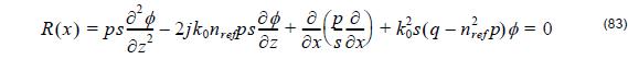 Optical BPM- Equation 83