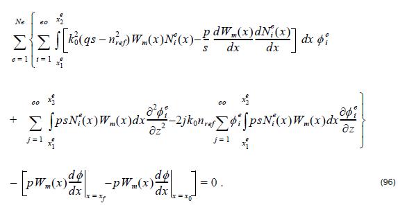 Optical BPM - Equation 96