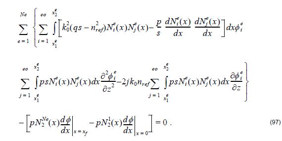 Optical BPM - Equation 97
