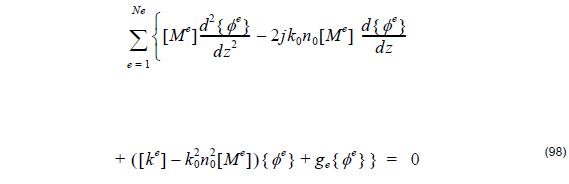 Optical BPM - Equation 98