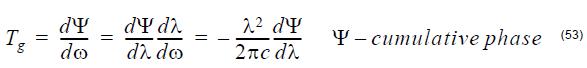 Optical Grating - Equation 53