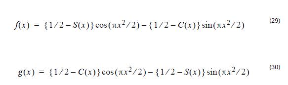 Optical Fiber - Equation 29 30