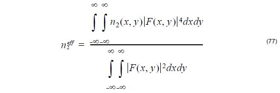 Optical Fiber - equation 77