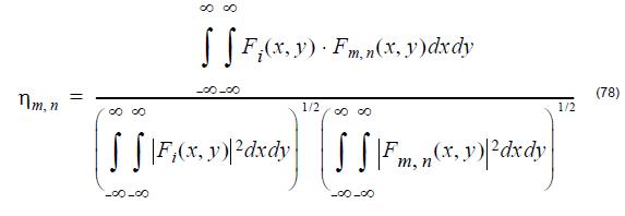 Optical Fiber - equation 78