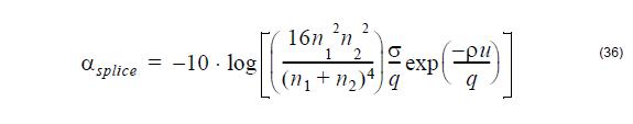 Optical Fiber - equation 36