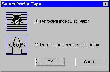 Optical Fiber - Select Profile Type