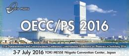 OECC 2016 - feature