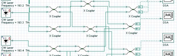 Optical System - Figure 1 - Broadcast Star Couplers