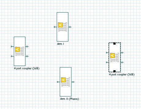 BPM - Figure 20 Components in OptiSystem layout