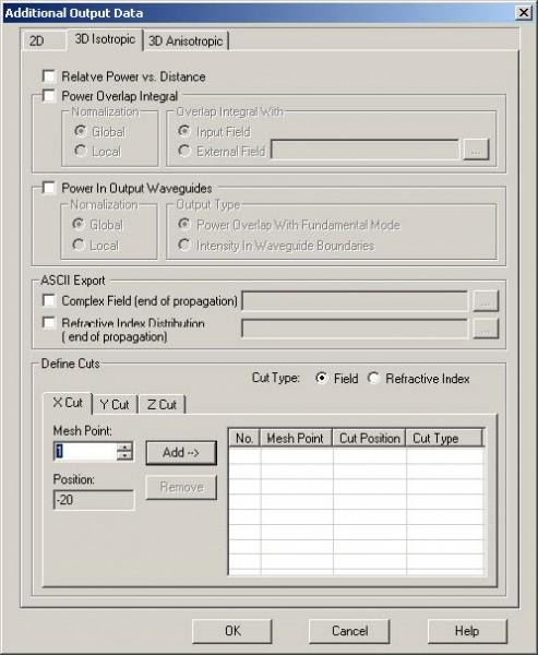 BPM - Figure 36 Additional Output Data
