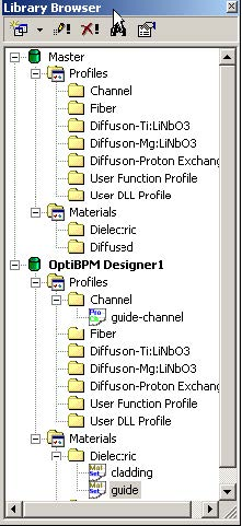 BPM - Figure 39 Library Browser