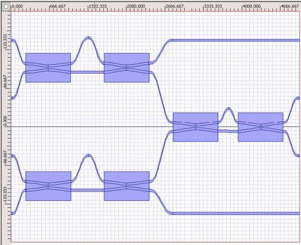 BPM - Six identical couplers