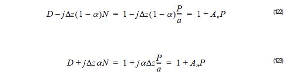 Optical BPM - Equation 122 - 123