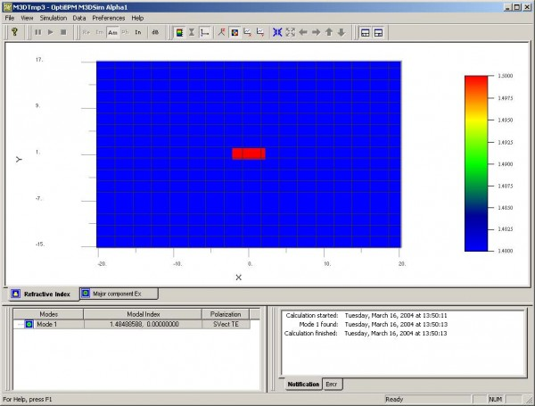 Optical BPM - Modesolver