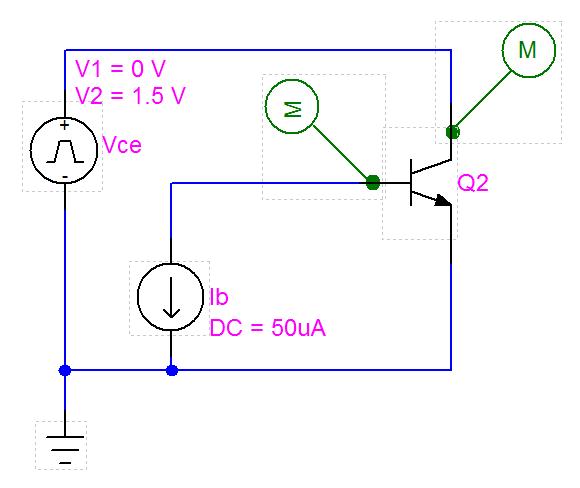 MextramCommonEmitterConfiguration