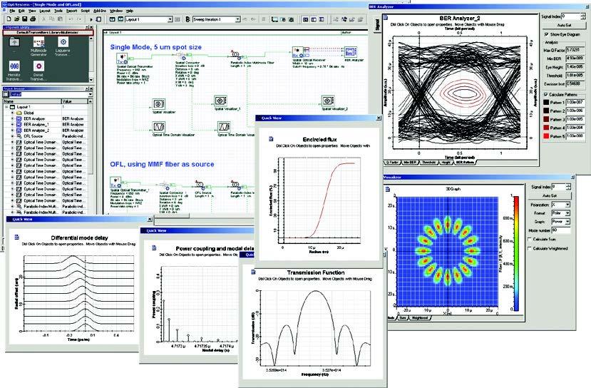 optical fiber communication simulation software free download